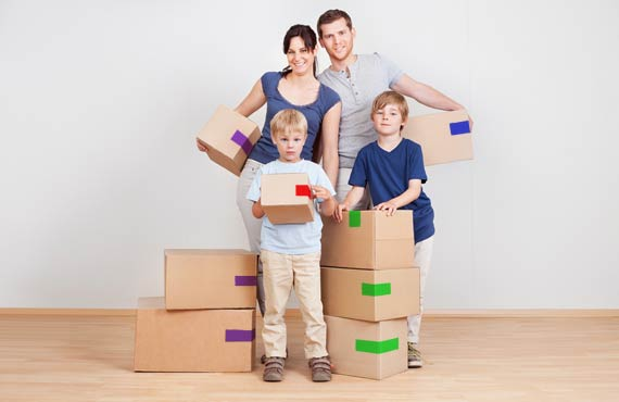 Colour coding for residential moving - Movers Vancouver